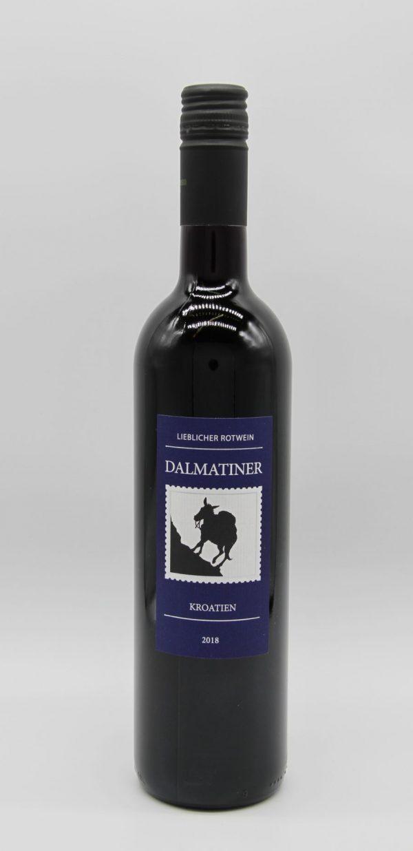 Dalmatiner - lieblicher Rotwein