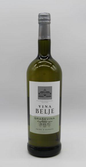Grasevina Vina Belje in der 1 Liter Flasche