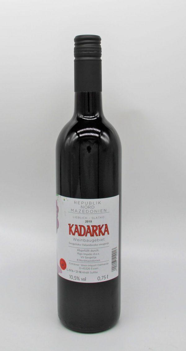 Ein lieblicher Rotwein